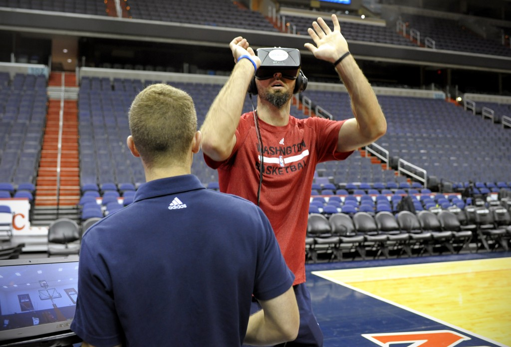 Marcin Gortat - Virtual Reality training